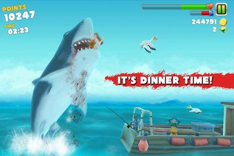 Скачать игру hungry shark взломанную на андроид
